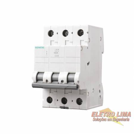 Disjuntor Trifasico - 63A - Cod 6229 -  Siemens