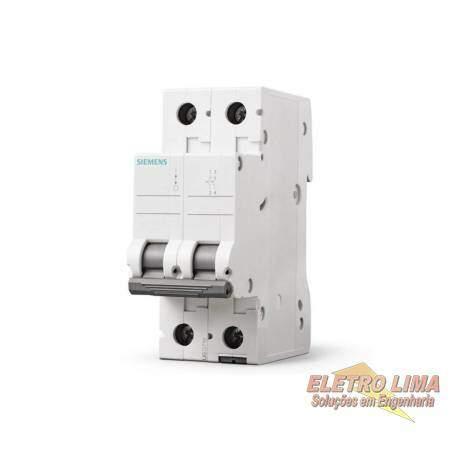 Disjuntor Bifasico - 63A - Cod 6419 -  Siemens