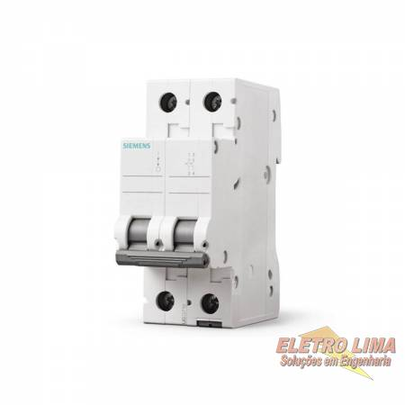 Disjuntor Bifasico - 16A - Cod 7317 -  Siemens